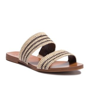 VINCE CAMUTO - Rhonda Slip-On Leather Sandal